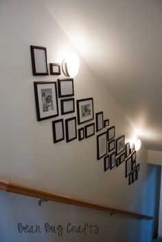BeanBugCrafts: Stairway Photo Collage