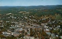 Aerial View Claremont New Hampshire Frank L. Forward