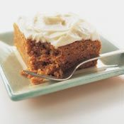 Simple Carrot Cake with Cream Cheese Frosting, Recipe from Cooking.com