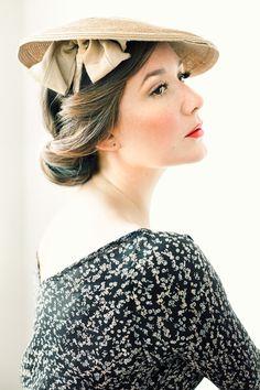 Such an elegant hat