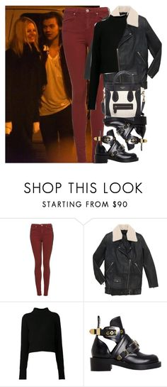 """NY with Harry and Nadine"" by valentinacard ❤ liked on Polyvore featuring Acne Studios, CÉLINE and Balenciaga"