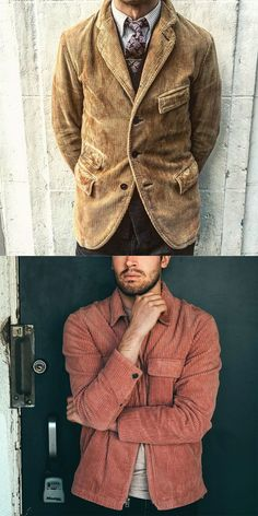Men's Corduroy Coats Fashion trends fall and winter coat for men, new arrival outfits you can't miss. Vintage style and. Italian Mens Fashion, Vintage Fashion, Mens Winter Coat, Fall Winter, Fall Fashion Trends, Autumn Fashion, Minimalist Outfit, Vintage Stil, Vintage Men