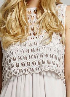 Blush Lace Top Dress
