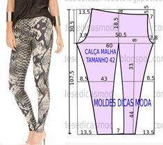 Calça com estampa de cobra | Moldes Moda por Medida | Bloglovin'