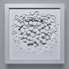 Buy Dots, a Paper on Paper by Olga Skorokhod from United States. It portrays: Abstract, relevant to: paper, sculpture, bubbles, wall art, 3d, 3d art, wall sculpture, paper art, PAPER SCULPTURE, hand-cut paper sculpture After much experimentation, I found I prefer to work with airbrush 150 lb white paper due to its smooth surface. The main tool for creating my art is a surgical blade. I give depth to my work by using double-sided sticky foam between the layers. The distinguishing feature is…