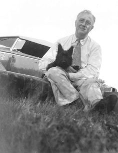 (And his trusty sidekick, the 32nd U.S. President.) In 1940, President Franklin Roosevelt received an early Christmas president of a Scottish Terrier puppy. The President named him after his own Scottish ancestor, John Murray, aka 'Murray the Outlaw of Falahill'. Fala, as he was nicknamed, was so cute that White House staff couldn't resist …