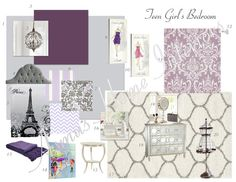 Princess space on pinterest paris bedroom eiffel towers for Room decor jeneration