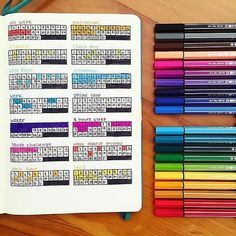 Organisation is more than just a skill it's a lifestyle The passion for planners of @breeeberry in colourful display in her #Leuchtturm1917 #agenda! by leuchtturm1917