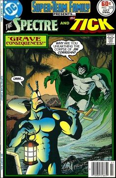 Super-Team Family: The Lost Issues!: The Spectre and The Tick