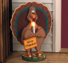 #Thanksgiving Turkey Greeter