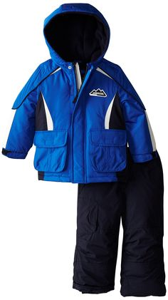 Amazon.com: London Fog Boy's Solid Sport Snowsuit: Clothing