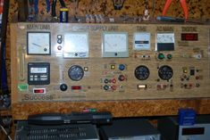 Electronic Workbench with Control Board