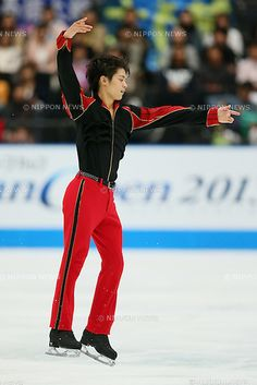 Takahiko Kozuka (JPN), OCTOBER 5, 2013 - Figure Skating : Daisuke Takahashi of Japan performs during Japan Open 2013 at Saitama Super Arena,...