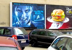 Drive in restaurant by MushroomBrain.deviantart.com Vienna, Funny Stuff, Restaurant, Deviantart, My Love, Painting, Humor, Funny Things, Painting Art
