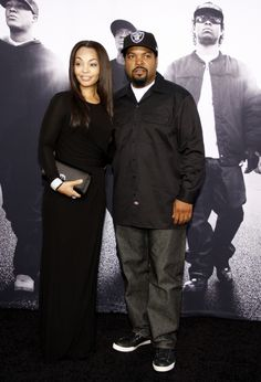 Oh I love me some Cube! Ice Cube - O'Shea Jackson and Wife Kimberly Black Actors, Black Celebrities, Celebs, Ice Cube Rapper, Black Celebrity Couples, Straight Outta Compton, Love N Hip Hop, Black Families, Artists