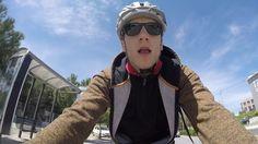 GoPro Mount FAIL.Το The Frame έσπασε προβλήματα ενός ποδηλάτη στους δρόμ...