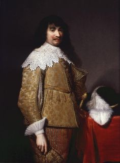 An Unknown Officer, Jan van Ravesteyn, 1634