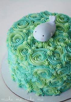 beluga whale cake - Google Search