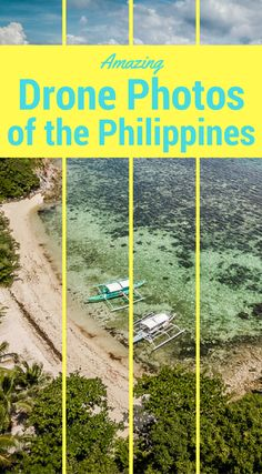 Amazing drone photos of the Philippines. This collection of drone photos of the Philippines is our personal favorites. We made it our mission on our last visit to create great content so people would see the Philippines as more than a third world nation on a side of the globe they have not considered visiting. We want to inspire you, show you something amazing. Click to see all of the photos at http://www.divergenttravelers.com/drone-photos-of-the-philippines/