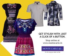 Scorching heat weakening your shopping spirit?? Go Virtual & browse through our new fashion apparels.