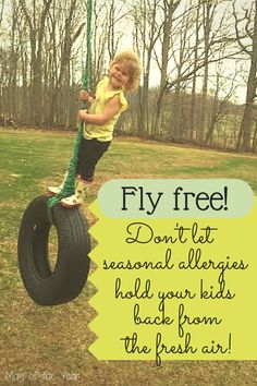 Seasonal allergies can be the worst with kids! Learn how to treat them properly so your family can get back to do what is important--soaking up that fresh air! Follow this info and get back out there!