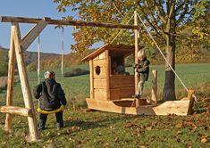 Almhütte Naturholz Manufaktur - Spielgeräte