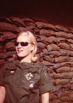1st LT. Lynda Van Devanter, 71st Evac Hospital, Pleiku Vietnam.