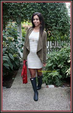 Stitch Fix Review, Stitch Fix Style, Casual Outfits, Stitch Fix Dress, Stitch Fix Reviews, Hunter Boots