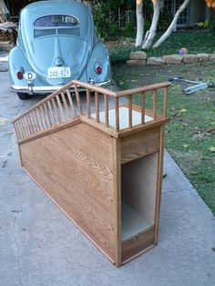 30 ideas diy dog ramp products for 2019 Dog Ramp For Stairs, Dog Steps For Bed, Dog Ramp For Bed, Pet Ramp, Dog Bed, Dog Furniture, Dog Rooms, Dog Crafts, Animal Projects