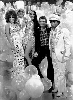 From The Cher Show, 1970s~Flip Wilson,Bob Mackie,Elton John and Bette Midler~♛