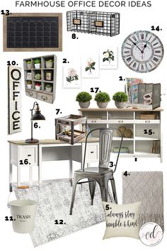 Don't Let Your Home Become A Money Pit: Country Office Ideas - Best Useful Home Decor Tips Home Office Design, Home Office Decor, Home Decor, Office Ideas, Rustic Office Decor, Work Office Decorations, Vintage Office Decor, Office Designs, Bedroom Office