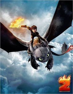 Toothless and Harold