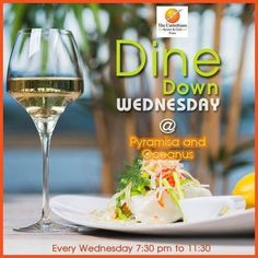 Good Food, Good #Wine and Good #Friends - the key ingredients for having a good time every #Wednesday! Come one and come all! #DineDownWednesday