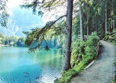We did a very short and very easy hike on this trail around the Piburgersee in Oetz Austria.    Hiking