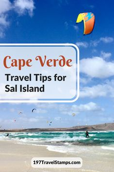 Visiting Sal Island in Cape Verde – Country Number 104 - 197 Travel Stamps Cape Verde Sal, Cape Verde Food, Travel Guides, Travel Tips, Budget Travel, Africa Destinations, Travel Destinations, Tanzania, Kenya
