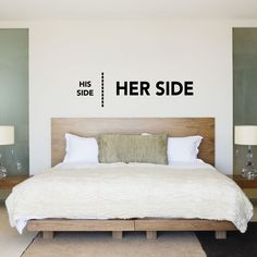 funny wall sticker for a contemporary bedroom - Give a touch of creativity to your home with the wall stickers