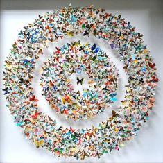 Rebecca J Coles Paper Cut Butterfly 3 Rebecca J Coles : Fascinants Papillons de Papier