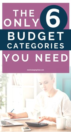 Are you struggling with how to build a budget? Learn how to stop making your budget so complicated and starting managing your money with a simple budget. Check out the only 6 budget categories you need to manage your personal finances like a boss. Don't forget to grab your free budget spreadsheet template!   Budget | How to Budget | Budgeting Money | Budgeting Finances | Budget Simple | Family Budgeting | Financial Budget |   #mommanagingchaos #budget #money Budgeting Worksheets, Budgeting Finances, Budgeting Tips, Financial Budget, Financial Peace, Frugal Living Tips, Frugal Tips, Budget Spreadsheet Template, Energy Saving Tips
