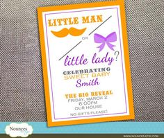 Hostess with the Mostess® - Gender Reveal Party
