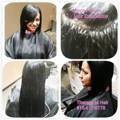 Hair Extensions Specialize Grand Rapids,MI Call 616-617-0178 #grandrapids, #sewins #hairextension #hairextensions #weaves #Fusion #mircoloopextension#theresamweaves