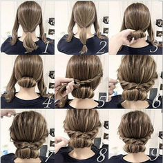 25 fast hairstyles for medium and long hair for every day. lange haare schnelle 25 fast hairstyles for medium and long hair for every day. Plaits Hairstyles, Fast Hairstyles, Pretty Hairstyles, Wedding Hairstyles, Girl Hairstyles, Hairstyle Ideas, Dinner Hairstyles, Hairstyle Tutorials, Updos Hairstyle