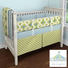 My Carousel Designs Custom Baby Bedding #carouseldesigns #pinparty #littlecrowninteriors