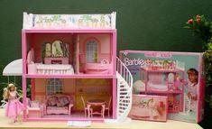 Brinquedos Casa da Barbi 1990