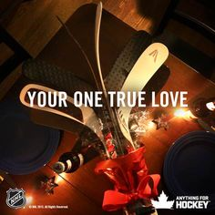 ❥ It's no coincidence that Valentine's Day and #HockeyDay fall on the same day. #hockeybouquet
