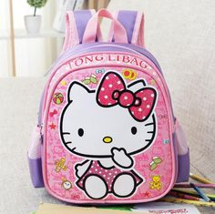 Baby Backpack Child School Bag Cartoon Hello Kitty /Transformers Backpack Kid Kindergarten Schoolbag For Kid Mochila Infantil♦️ SMS - F A S H I O N  http://www.sms.hr/products/baby-backpack-child-school-bag-cartoon-hello-kitty-transformers-backpack-kid-kindergarten-schoolbag-for-kid-mochila-infantil/ US $9.27