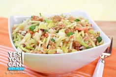 Tuna Casserole - A healthy option for your Yes You Can! Diet Plan dinner