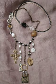 necklace, found object ideas