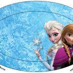 Placa Frozen Disney - Uma Aventura Congelante: