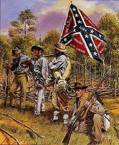 Confederate States Soldiers