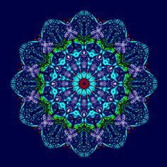 douce vigilance intérieure ....soft inner vigilance ....vigilância interior macio..... Mandala de Pierre Vermersch Digital Drawings